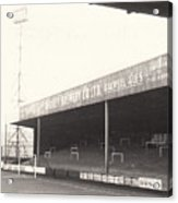 Scunthorpe United - Old Showground - Doncaster Road End 1 - 1960s Acrylic Print