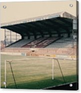 Scunthorpe United - Old Showground - East Stand 2 - 1970s Acrylic Print