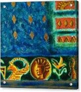 Scythian Gold Acrylic Print