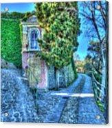 Sea And Mountains Hike Narrow Roads - Creuza De Ma E Creuza De Munte Acrylic Print