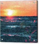 Sea And Sun Acrylic Print