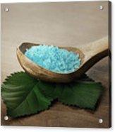 Sea Bath Salt Acrylic Print