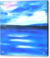 Sea Blue Sky Acrylic Print