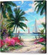 Sea Breeze Trail Acrylic Print