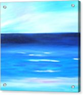 Sea Calm Acrylic Print