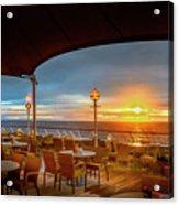 Sea Cruise Sunrise Acrylic Print