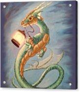 Sea Dragon And Lantern Acrylic Print