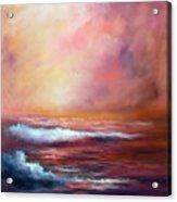Sea Dusk Acrylic Print
