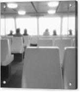 Sea Ferry Ride  Acrylic Print