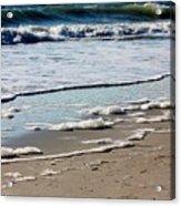 Sea Foam At The Shore Acrylic Print