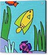 Sea Frolic Acrylic Print