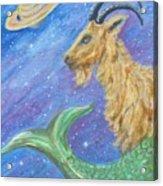 Sea Goat Acrylic Print