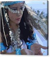 Sea Goddess Acrylic Print