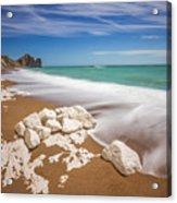 Sea In Motion Acrylic Print