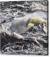 Sea In Turmoil Acrylic Print