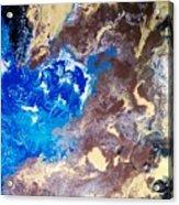 The Sea Kises The Desert Acrylic Print