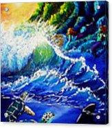 Sea Life Fantasy Acrylic Print