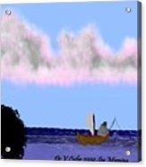 Sea Morning Acrylic Print