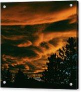 Sea Of Clouds Acrylic Print