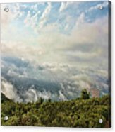 Sea Of Clouds Acrylic Print by Manuel Benito