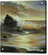 Sea Of Gold Acrylic Print