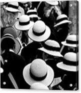 Sea Of Hats Acrylic Print