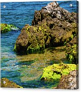 Sea Of Marmara Seashore Acrylic Print