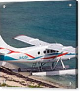 Sea Plane At Dry Tortugas National Park Acrylic Print