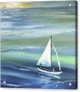 Sea Row Acrylic Print
