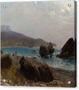 Sea Shore Crimea Acrylic Print
