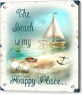 Sea Side-jp2734 Acrylic Print