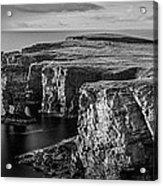 Sea Stacks, Yesnaby, Orkney, Scotland Acrylic Print