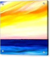 Sea Sweet Sky Acrylic Print