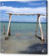 Sea Swing Acrylic Print