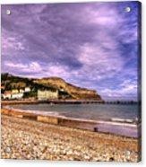 Sea View Town Acrylic Print