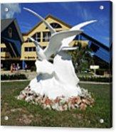 Seabird Statue Acrylic Print