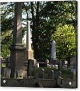 Seacoast Cemetery Acrylic Print