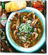 Seafood Gumbo Acrylic Print