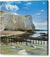 Seaford Cliffs Acrylic Print