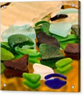 Seaglass Reflections Acrylic Print