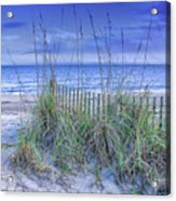 Seagrass And Sand Acrylic Print