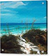Seagrove Beach Florida Acrylic Print by Racquel Morgan