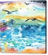Seagull Seas Acrylic Print