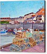 Seahouses IIi Acrylic Print