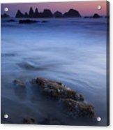 Seal Rock Glow Acrylic Print