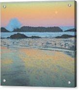 Seal Rock Moonset Acrylic Print