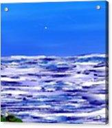 Sea.moon Light Acrylic Print