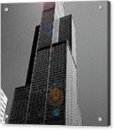Sears Tower 2 Acrylic Print by BuffaloWorks Photography