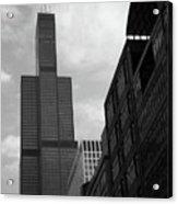 Sears Tower B-w Acrylic Print