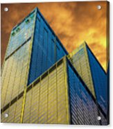 Sears Tower By Skidmore, Owings And Merrill Dsc4411 Acrylic Print